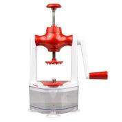 It's Useful Veggie Spiralizer for Making Vegetable Spirals, Red
