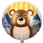 Let's Go Camping 46cm Foil Balloon
