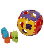 Aaryan Enterprise Educational Shape Sorter Ball with Shapes all around the Detachable Ball for Kids . , Non Toxic