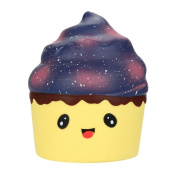 CYCTECH Stress Relief Toys Exquisite Galaxy Cake Squeezable Slow Rising Charm Kid Toy Gift