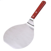 Pizza Peel, WCIC Stainless Steel Pizza Spatula With Wooden Handle Cake Lifter For Baking