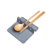 Kitchen Utensil Rest, Ladle Spoon Holder,Spoon Rest,Non-slip Heat-safe Silicone Utensils Holders for Kitchen Counter or Stove Top, Drip Catcher for Resting Cooking Spoons or Utensils
