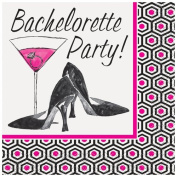 Girls Night Out Bachelorette Party Beverage Napkins, 16ct