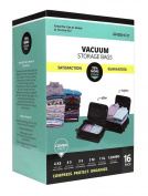 Greenco 16 Pack Space Saver Vacuum Seal Storage Bags, Combo Value Pack Space Bag