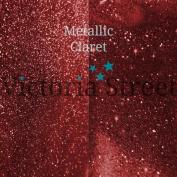 """Fine Glitter - 0.2mm / 0.008"""" - Metallic - Claret - 25 Grammes"""