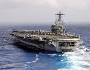 USS Ronald Reagan (CVN 76) A Nimitz-class aircraft carrier