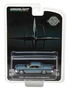 NEW 1:64 GREENLIGHT HOBBY EXCLUSIVE - BLUE 1965 LINCOLN CONTINENTAL Diecast Model Car By Greenlight