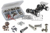 RC Screwz Tekno RC EB410 Buggy 1/10th Stainless Steel Screw Kit #tek017