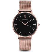 Women Watches 2017 Brand Luxury Fashion Quartz Ladies Watch Clock Rose Gold Dress Casual girl relogio Steel Rose Black