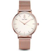 Women Watches 2017 Brand Luxury Fashion Quartz Ladies Watch Clock Rose Gold Dress Casual girl relogio Steel Rose White