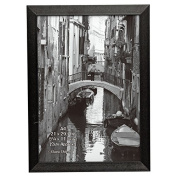 BARRINGTON A4 (21x30cm) Black Certificate Frame Photo Frame Display Frame By The Photo Album Company With Safety Plexi Glass Aperture