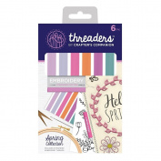 Crafter's Companion Threaders - Embroidery Stranded Cotton - Spring