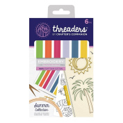 Crafter's Companion Threaders - Embroidery Stranded Cotton - Summer