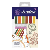 Crafter's Companion Threaders - Embroidery Stranded Cotton - Autumn