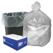 WEBSTER INDUSTRIES High Density Resin 60.6l Trash Bags