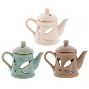 Ceramic Teapot Oil Burner with Lid. the ideal present for that Birthday Gift, Christmas Present or Fathers day gifts etc…