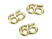 Stray Parts Number 65, Gold, 1.5 cm, 4 pcs