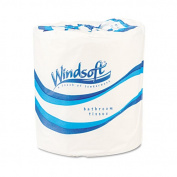 Windsoft Single Bath One-Ply Bath Tissue, 1000 sheets, 96 ct