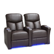 Seatcraft Raleigh Home Theatre Seating Manual Recline Leather Gel