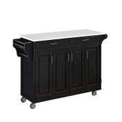 Home Styles Create-A-Cart in black Finish