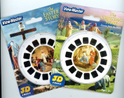 Easter Story - Christmas Story - Double Vintage ViewMaster Set - 6 Reels