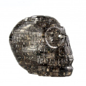 Original 3D Crystal Puzzle, Sacow Skull Clear Model Crystal Puzzle DIY Gadget Blocks Building Toys