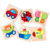 Wooden Puzzles for Toddlers Kids Girls Boys Babies