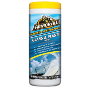 armour ALL GLASS & PLASTIC CLEANER WIPES