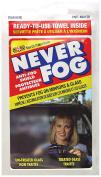 Blue Magic Never Fog, Anti-Fog Shield Towel, Prevent Fog on Mirrors & Glass