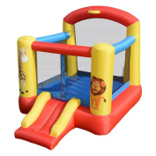 Inflatable Jumping Bounce House with Animal Patterns