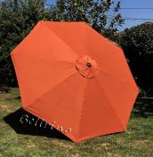 Bellrino Replacement Umbrella Canopy for 2.7m 8 Ribs Terra Cotta