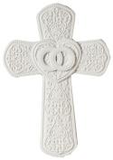 23cm Cana Porcelain Wall Cross