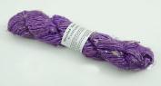 100g/ 1 Skein Recycled Banana Silk Yarn Hand-spun Soft Yarns - Lavender