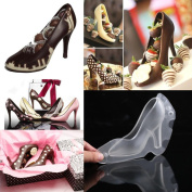 Sansee 3D High Heel Shoe Chocolate Mould Candy Cake Jelly Mould DIY Wedding Decorating