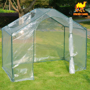 1.8mx1.1mx1.5m Green House Outdoor Plant Gardening Mini Greenhouse