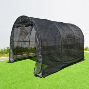 Sunrise Umbrella Outdoor Plant Gardening 12L x 7W x 7H ft. Large Hot Walk-In Greenhouse