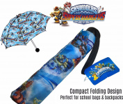 Licensed SKYLANDERS SUPERCHARGERS COMPACT FOLDING UMBRELLA
