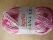 Katia Triana Lux shade 64 scarf yarn 100g ball