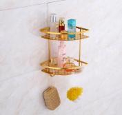 Daeou Towel rack Bathroom Bathroom Triangle Board corner rack Shelf