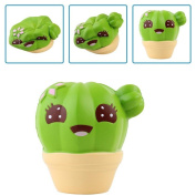 2018 Newest Squishy Decompression Toys, ❤️ Xinantime Cactus Cream Scented Squishy Slow Rising Squeeze Strap Kids Christmas Toy Stress Reliever Toy
