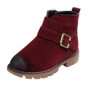 NEEDRA children Chelsea Boots Martin Sneaker Winter Thick Snow Baby Casual Shoes