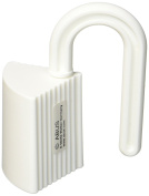 ABUS Junior Care Door & Window Stop - Nessa | Baby Safety | Finger Pinch Guard | Stopper | white | 76974