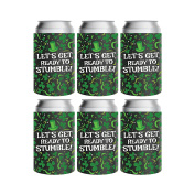 St. Patrick's Day Can Koozies - Insulated Coolies - With Clovers, Swirlies, & Dots Designs - Keep Canned Drinks Cool For A Longer Time - Stay Refreshed & Get Drunk With Irish-American Family & Friends