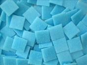 Full sheet of 225 Light Turquoise 20mm Vitreous Mosaic Tile