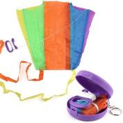 The Best Toy Gift,Winkey Earth kite Beautiful Large Easy Flyer Kite Supplest Pocket kite Toy,Colour Random