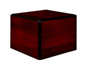 Chateau Urns Society Collection, Wood Urn, Pet Urn, Extra Small cremation Urn, Cherry wood finish