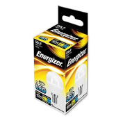 Energizer E14 6 W, 1 LED SES (Small Edison Screw) Golfball Bulb - Pack of 5