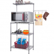 MAIKA HOME - Microwave Shelf / Kitchen Shelf / 4-layers
