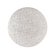 14 inch Cake Card - Silver - 3mm depth