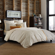 Studio 3B Twin Size Duvet Cover from the Everett Bedding Collection by Kyle Schuneman in a Cream Colour Pattern